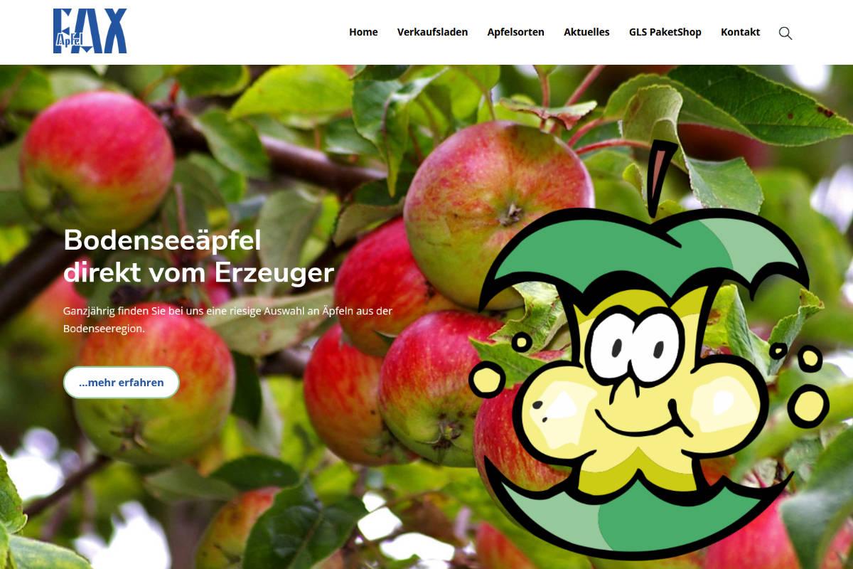 Apfel Fax, Burgau