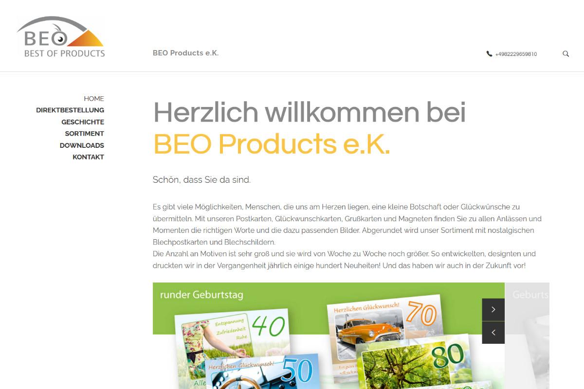 BEO Products e.K., Burgau