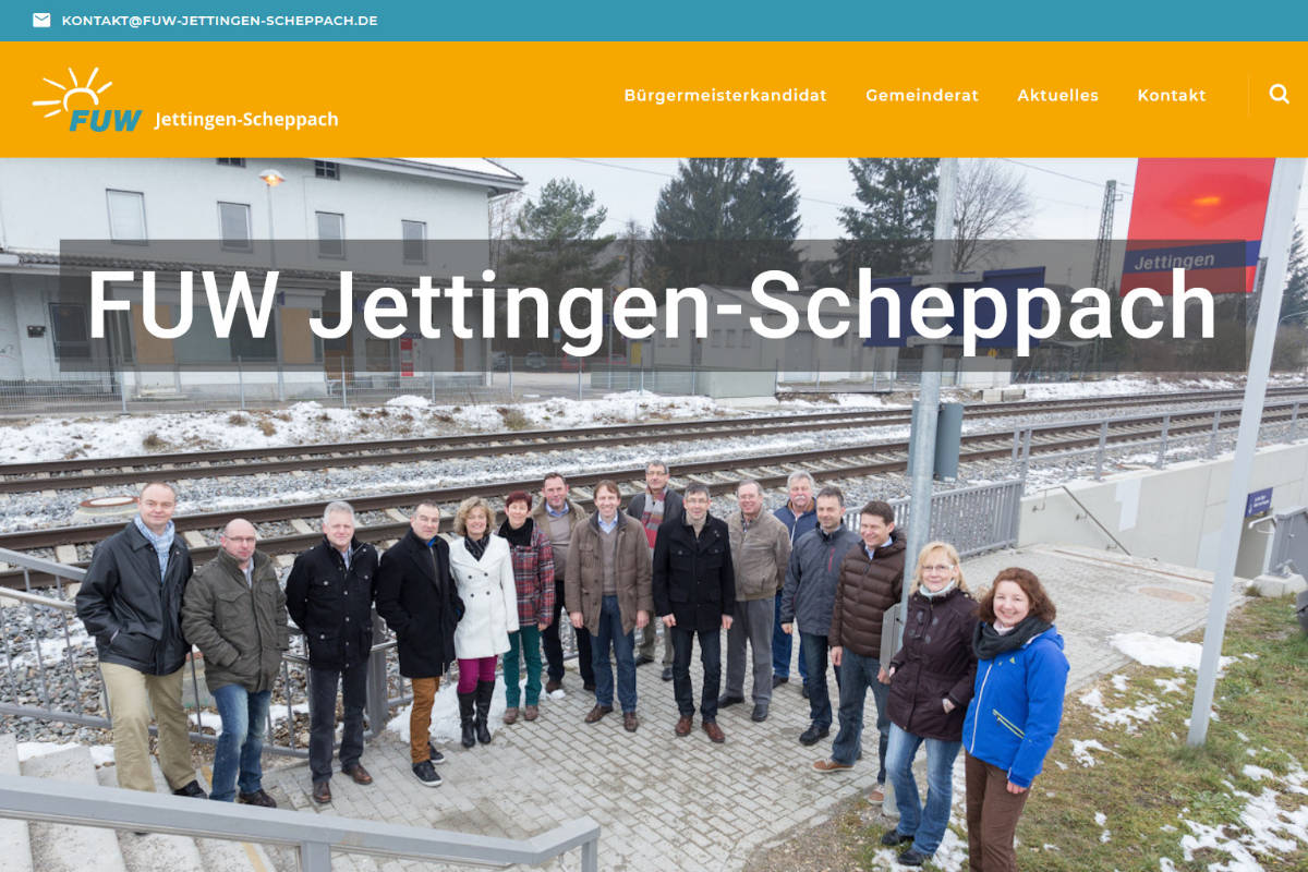 Freie Unabhängige Wähler, Jettingen-Scheppach