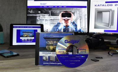 Produktatalog als Print, CD-ROM und im Kunden-Login