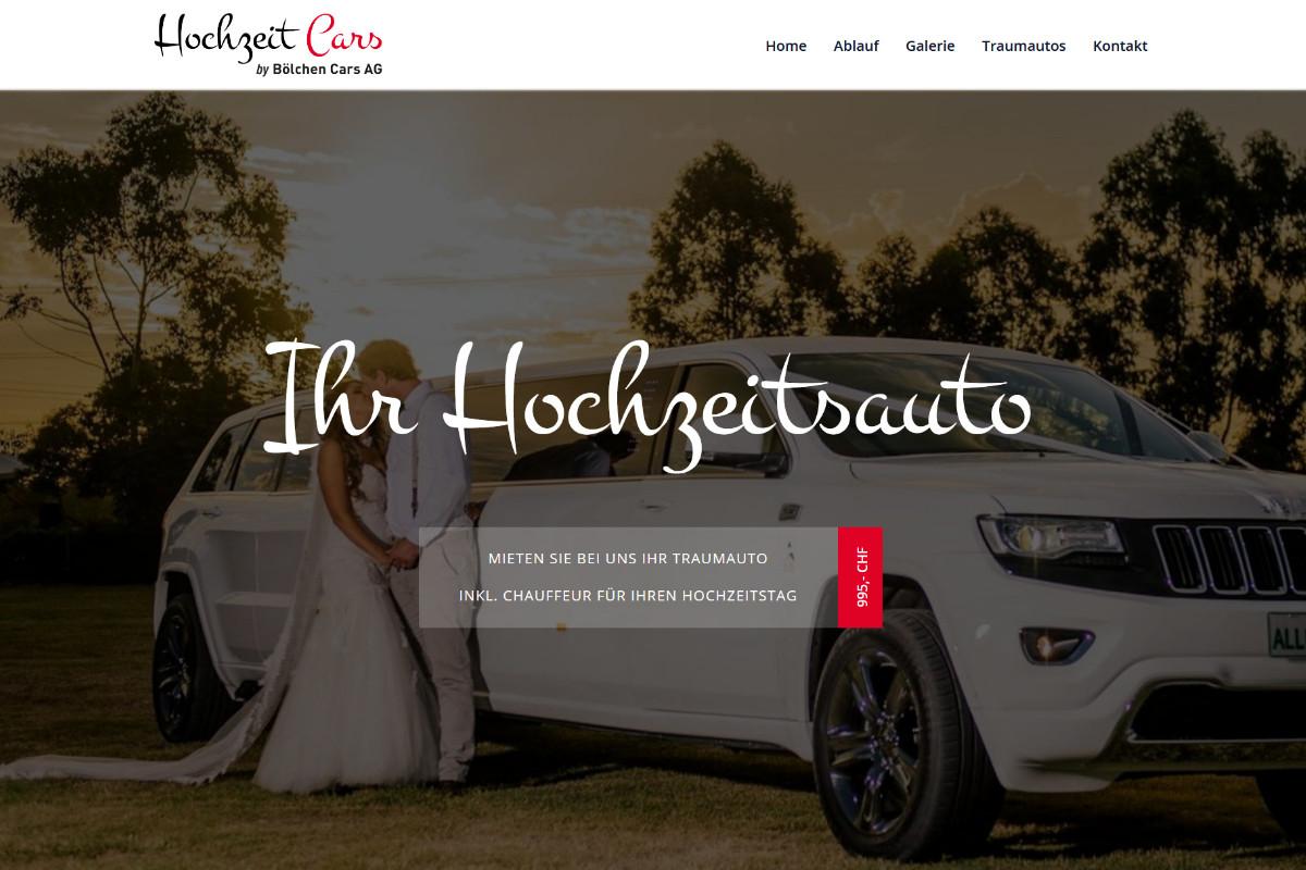 Hochzeit Cars, Schweiz