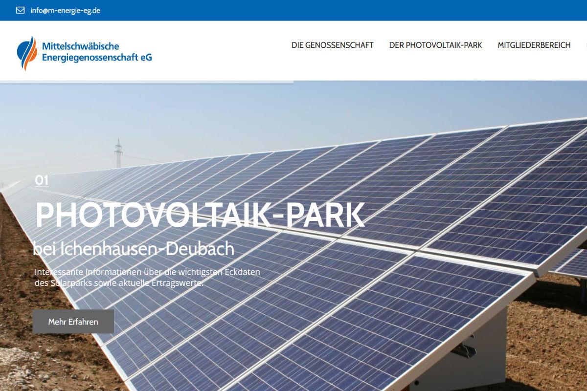 Mittelschwäbische Energiegenossenschaft, Günzburg