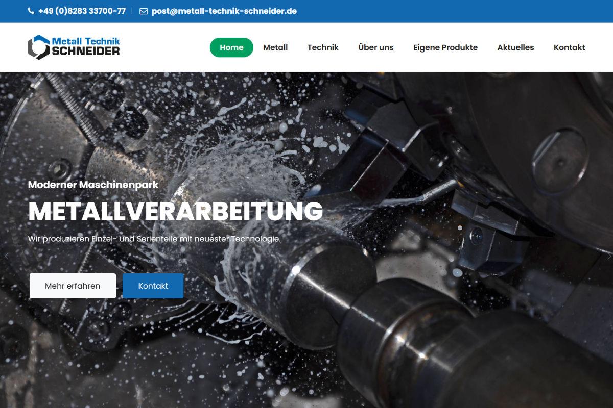 Metall Technik Schneider, Ellzee