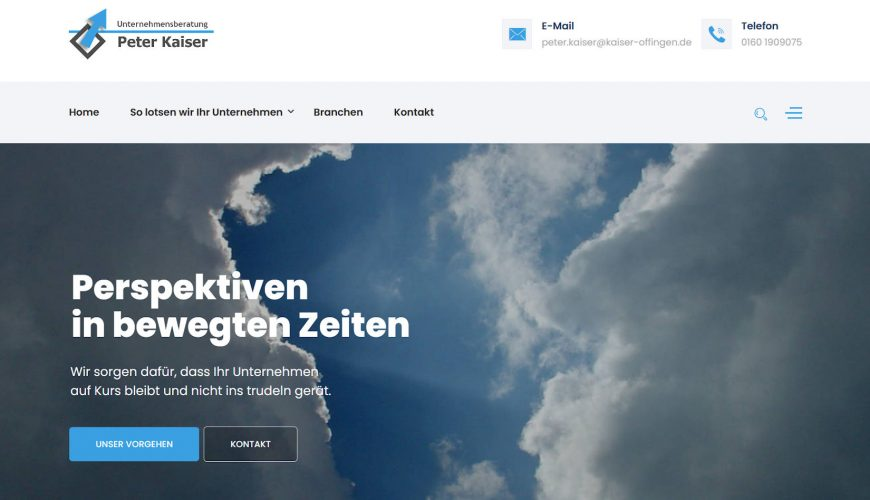 Nachhaltiges Webdesign – Re-Design nach 11 Jahren