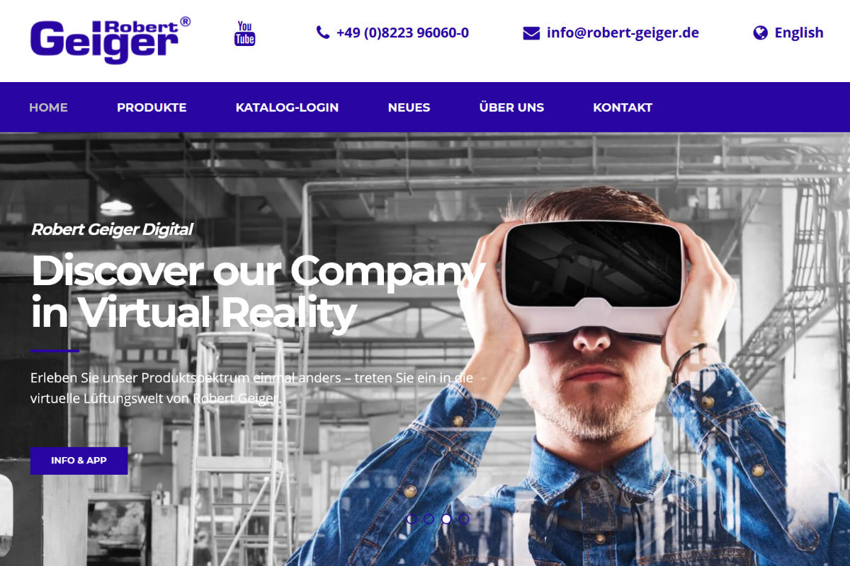 Robert Geiger Technische Bauteile GmbH, Ichenhausen