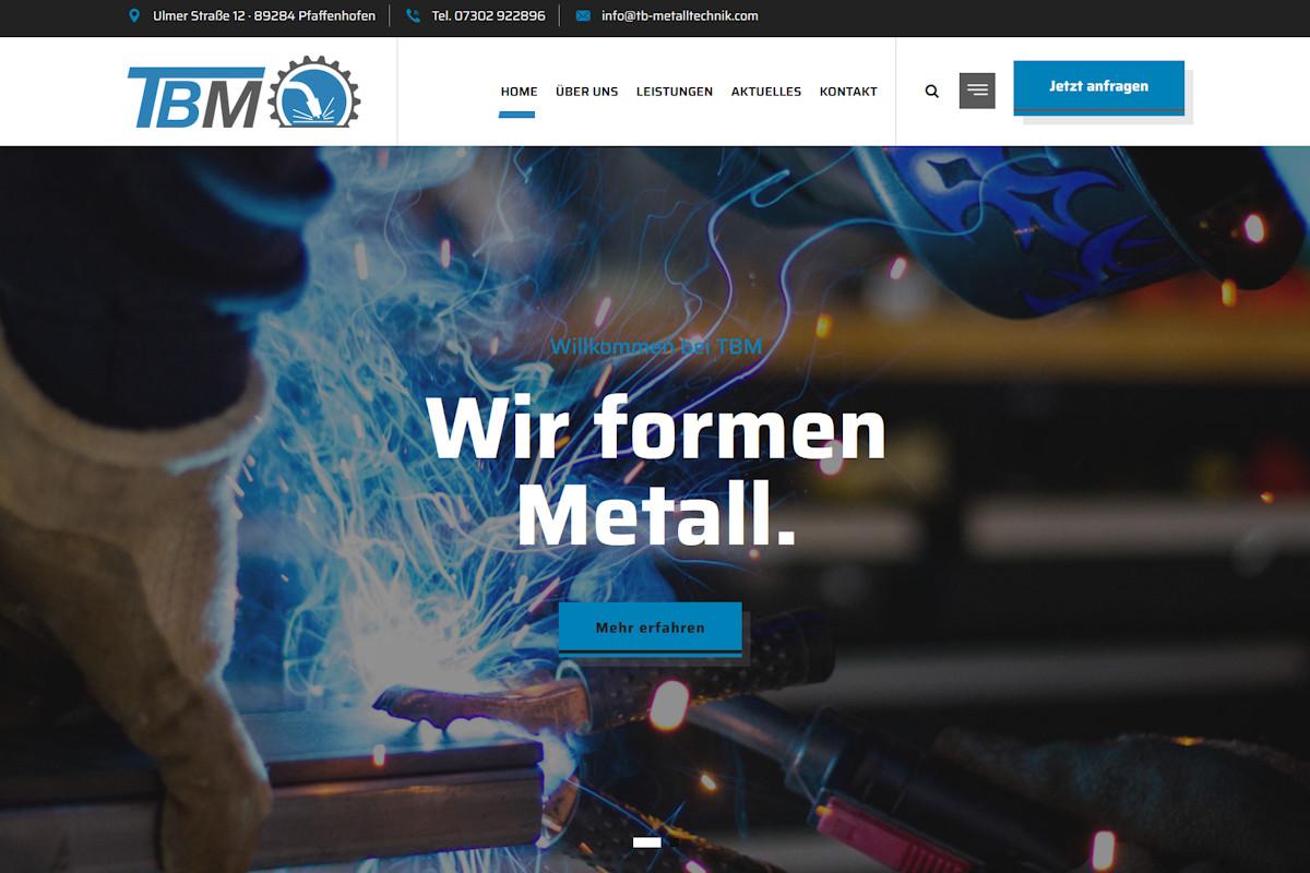 TBM – Thomas Bolkart Metalltechnik, Pfaffenhofen