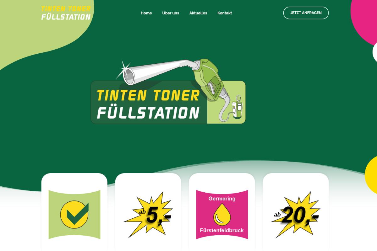 Tinten Toner Füllstation, Germering und Fürstenfeldbruck