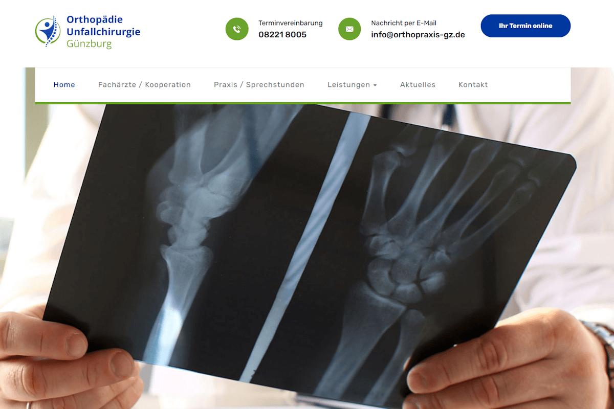 Orthopädie Unfallchirurgie Günzburg